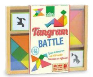 Jeu Tangram Battle - Jeu Vilac