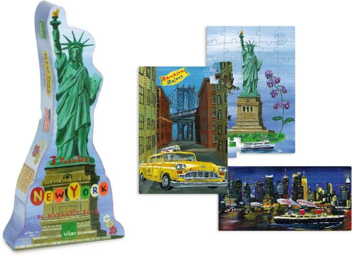 Puzzles New York Nathalie Lété - Vilac