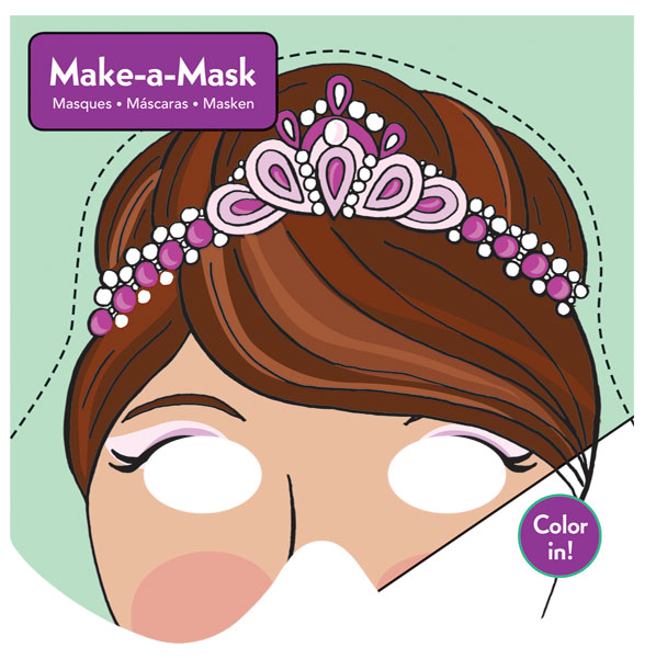 Kit Crée un masque de princesse - Mudpuppy