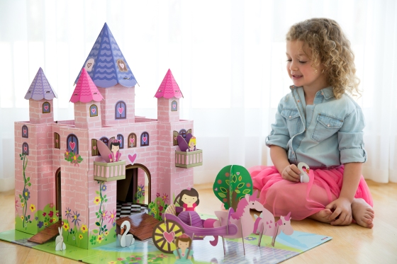 Château de princesse Trinny - Jouet en carton Krooom